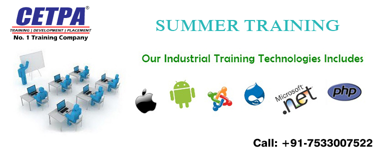 summer training in Roorkee
