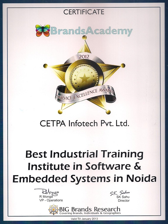 Best Embedded System Training Institute in Roorkee at CETPA