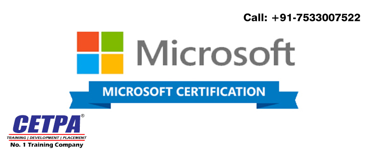 Get Best Microsoft certification training in Roorkee from Cetpa
